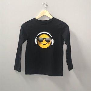 Children's emoji tee 😎 🎧
